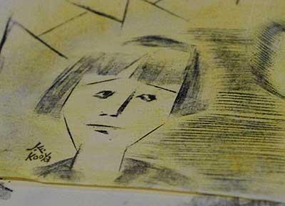 ラクガキ 140131-02 (顔)
